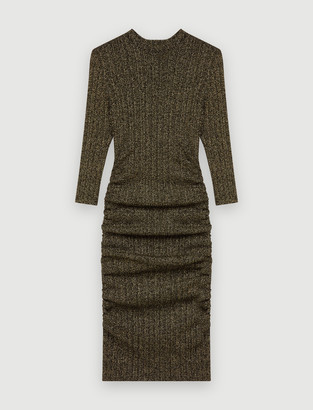 Maje Short lurex dress
