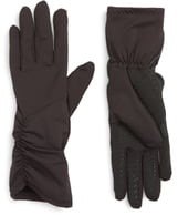 URBAN RESEARCH Side Ruched Stretch Touchscreen Compatible Gloves