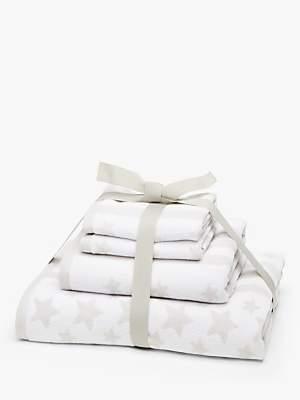 little home at John Lewis Stars & Stripes Towel Bale