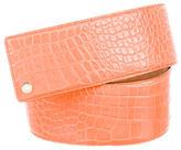 Jimmy Choo Embossed Leather Belt