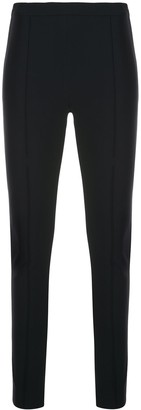 Adam Lippes Side Slit Detail Cropped Leggings