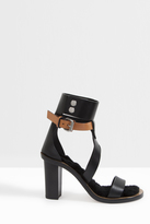 Isabel Marant Jenyd Leather Buckle Sandals