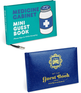 Knock Knock My Car Guest Book and Medicine Cabinet Mini Guest Book
