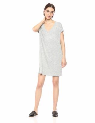 Daily Ritual Amazon Brand Women's Cozy Knit Dolman-Sleeve V-Neck Dress