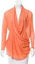 Alice + Olivia Draped Wrap Cardigan