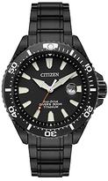 Citizen Bn0147-57e Royal Marines Commandos Limited Edition Date Titanium Bracelet Strap Watch, Black