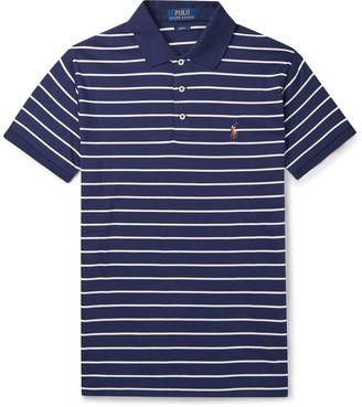 Polo Ralph Lauren Striped Pima Cotton-Jersey Polo Shirt