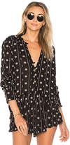 Amuse Society Stinson Blouse in Black. - size L (also in S,XS)