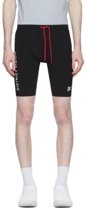 District Vision Black TomTom Half-Tights Shorts