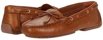Clarks C Mocc Boat (Black Leather) Women's Shoes