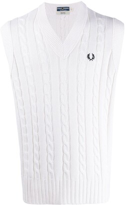 Fred Perry embroidered logo pullover