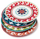 Mudhut Suzani Melamine Dinner Plate Set of 4