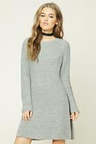 Forever 21 FOREVER 21+ Longline Side-Slit Sweater