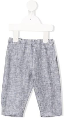 Il Gufo Linen Drop Crotch Trousers