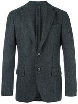 Mp Massimo Piombo herringbone patterned blazer