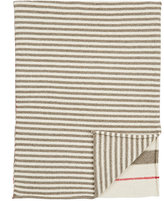 Nicola Levy Striped Baby Blanket