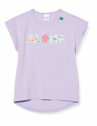 Fred's World by Green Cotton Girl's Aloha T T-Shirt