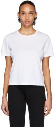 John Elliott White High Twist Cotton Classic T-Shirt