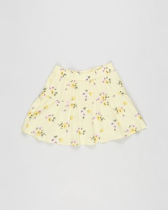 Abercrombie & Fitch Girl's Yellow Skorts - Circle Skort - Teens - Size 9-10YRS at The Iconic