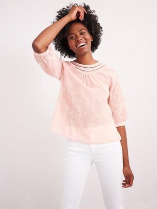 White Stuff Emi Top - Pink