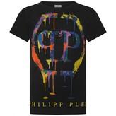 Philipp Plein Philipp PleinMulti-Coloured DIamante Applique Top