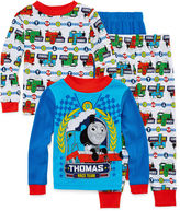 LICENSED PROPERTIES Thomas and Friends 4-pc. Cotton Pajama Set - Toddler Boys 2t-4t