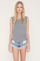 Forever 21 FOREVER 21+ Geo Print Top