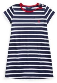 Polo Ralph Lauren Toddler Girls Striped Jersey Tee Dress