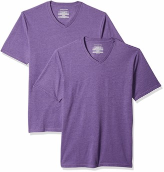 Amazon Essentials Men's 2-Pack Slim-Fit V-Neck T-Shirt