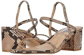 Steve Madden Inessa Heeled Sandal (White) Women's Shoes
