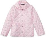 Ralph Lauren Gingham Quilted Barn Jacket