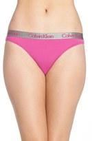 Calvin Klein 'Radiant' Cotton Thong (3 for $30)