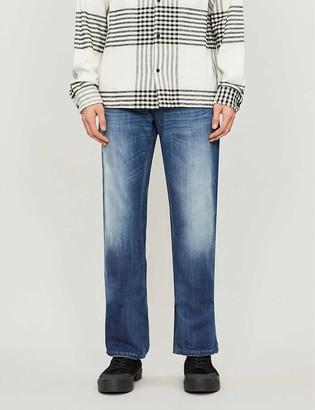 Diesel Larkee straight faded jeans