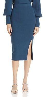 Jonathan Simkhai Standard Side Slit Midi Skirt