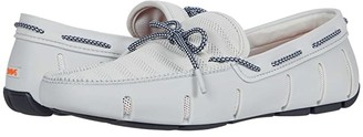 Swims Knit Lace Loafer (Glacier Gray/Navy) Men's Shoes