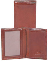 Scully Men's Gusseted Card Case Italian Leather 3032