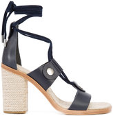 Rag & Bone lace-up sandals - women - Leather/rubber - 6