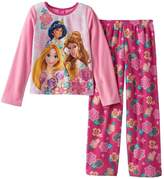 Disney Princess 2 piece Girls Fleece Pajama, Kids