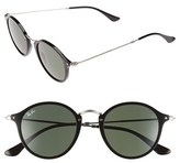 Ray-Ban Men's 49Mm Retro Sunglasses - Black/ Green