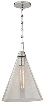 Maxime Latitude Run 1-Light Single Cone Pendant Latitude Run