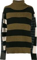Colville bold striped jumper