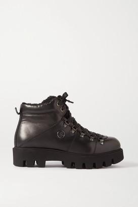 Bogner Copenhagen Shearling-lined Leather Ankle Boots - Black