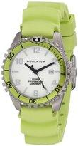 Momentum Womens Quartz Watch, Analogue Classic Display and Rubber Strap 1M-DV07WL1L