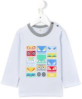 Fendi Bag Bugs print T-shirt