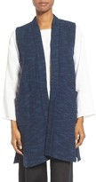 Eileen Fisher Women's Slubbed Cotton Vest