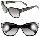 Bobbi Brown Women's 'The Veronika' 57Mm Sunglasses - Black