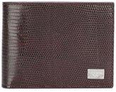 Dolce & Gabbana Dauphine leather billfold wallet
