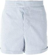 Moncler Gamme Bleu striped shorts - men - Cotton - 4