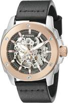 Fossil Men's ME3082 Modern Machine Automatic Leather Watch