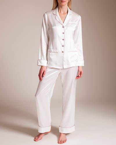 Bracli Olivia Von Halle Coco Celia Silk Pajama